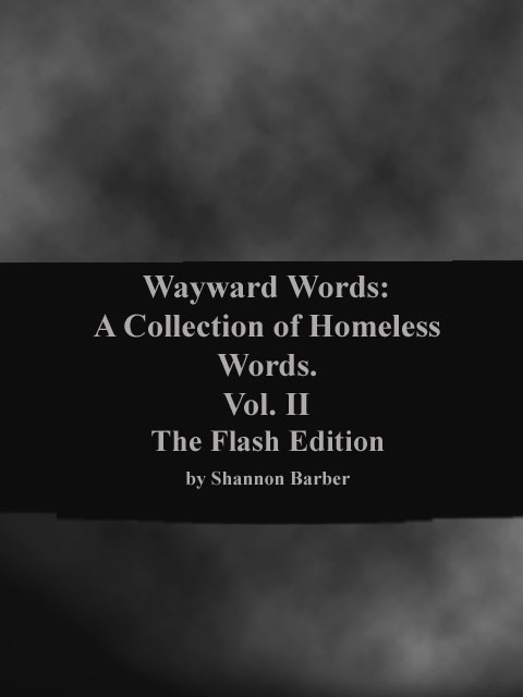 Book cover for Wayward Words: Vol II